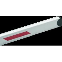 Стрела BFT AQ5 прямоугольная со светоотражающими наклейками. Длинна 5м