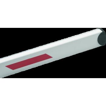 Стрела BFT AQ3 прямоугольная со светоотражающими наклейками. Длинна 3м