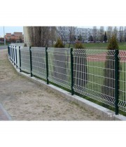Заборная секция 1500х2500мм из сварной сетки оцинкованная Заграда ЭКО