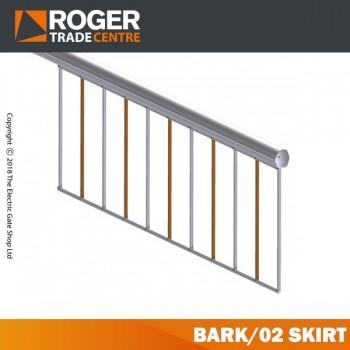 Шторка алюминиевая 2 м для Bionik-4 Roger BARK / 02