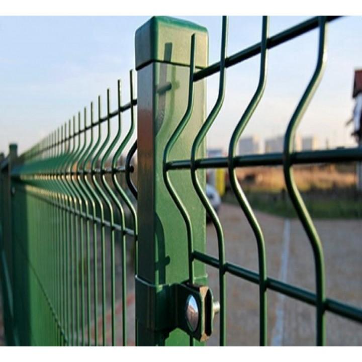 Заборная секция Стандарт 1260х2500мм из сварной сетки с полимерным покрытием