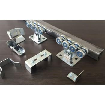 Консольная фурнитура Alutech SGU для откатных ворот весом до 500кг