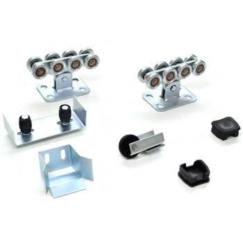 Консольная фурнитура RollGrand для откатных ворот весом до 400кг (пластиковые ролики)