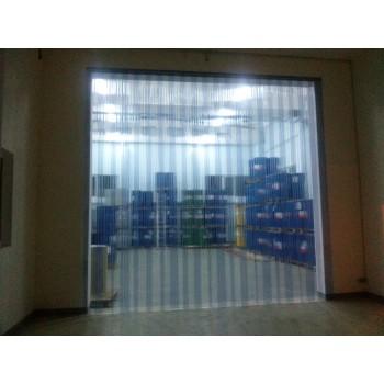 Полосовая ПВХ завеса из пленки шириной 300мм