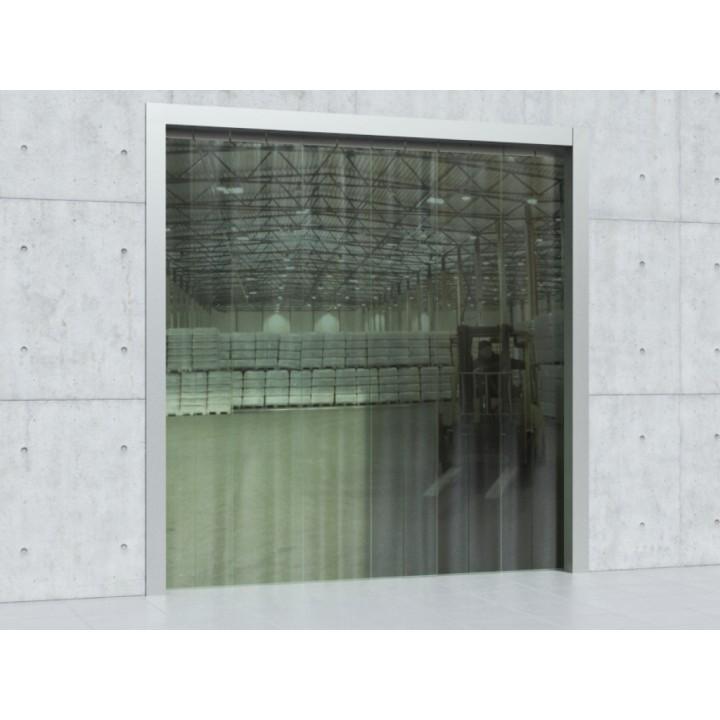 Полосовая ПВХ завеса из пленки шириной 200мм