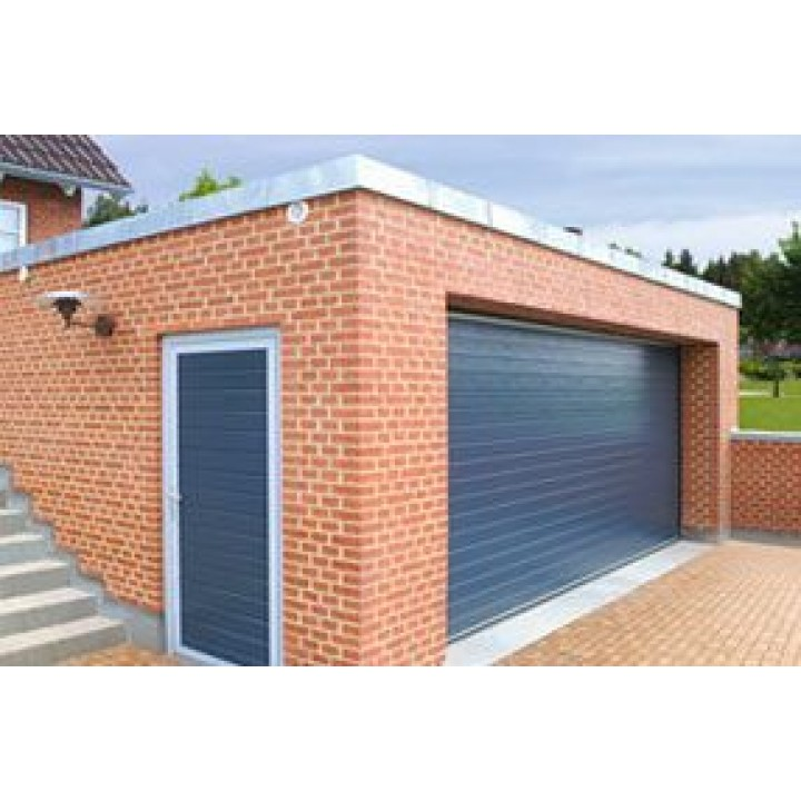 Ворота секционные гаражные Alutech серии Trend